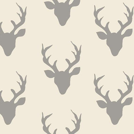 Hello Bear Art Gallery Fabric Woodland Animals Cotton Sewing Dress Quilt 0.5m