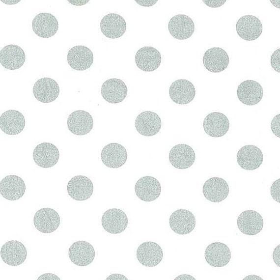 Miller Glitz Quarter dot white-silver by M