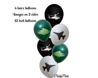 American heroes balloons, military wedding, deployment homecoming, gamer birthday party, veterans reunion, retirement, video games