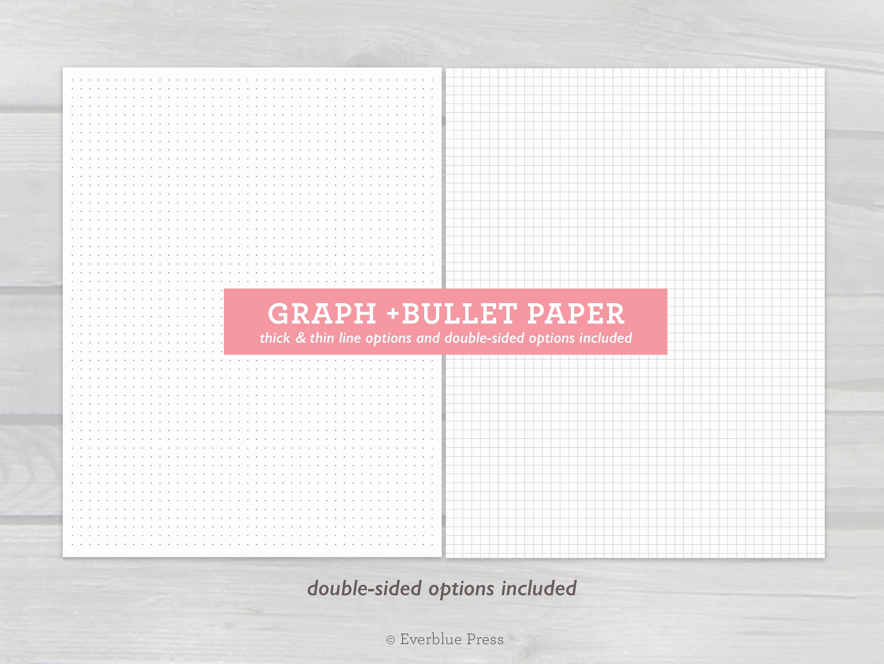 photograph regarding Printable Dot Paper for Bullet Journal identified as Printable Graph Paper and Bullet Magazine Dot Paper, 8.5x11\