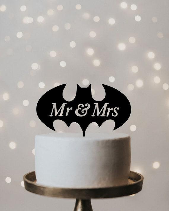 Wedding Cake Topper Batman wedding cake topper cake topper | Etsy