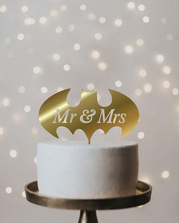 Batman Wedding Cake Topper Wedding Cake Topper Cake Topper | Etsy