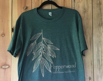 Unisex Pepperwood in forest green