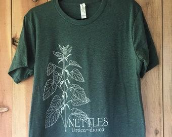 Unisex Nettles in forest green