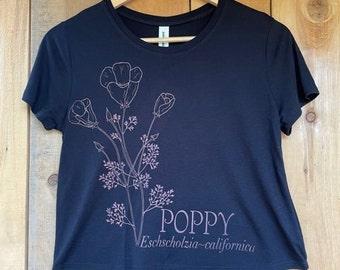 Women's Poppy crop top