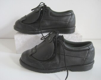 32e05ba1b4 Metatarsal Work Boots Size 9.5 W Womens Safety Guard WORK 1 Leather Black  USA NWOT A1707
