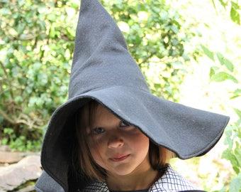 black witch hat, witch hat, wizard hat,