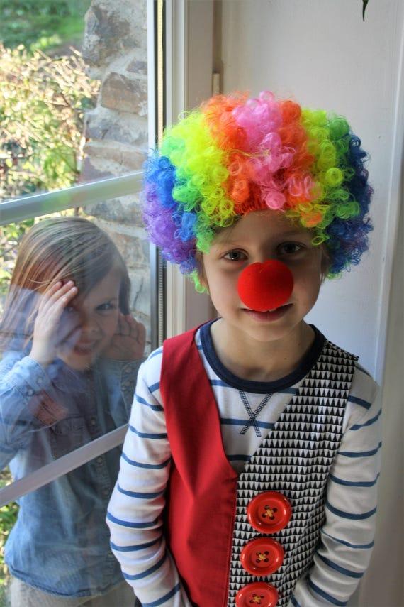costume de clown, costume de clown pour enfant, pantalon de clown, veste de clown, costume de clown, costume de clown halloween, costume d'halloween les bébés