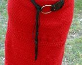 Warm knit skirt hand-knit skirt pencil skirt women skirts red Autumn winter clothes openwork womens warm mohair knitted crochet