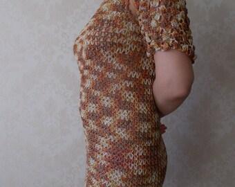 NEW!!Evening, fishnet dress, fishnet Bolero
