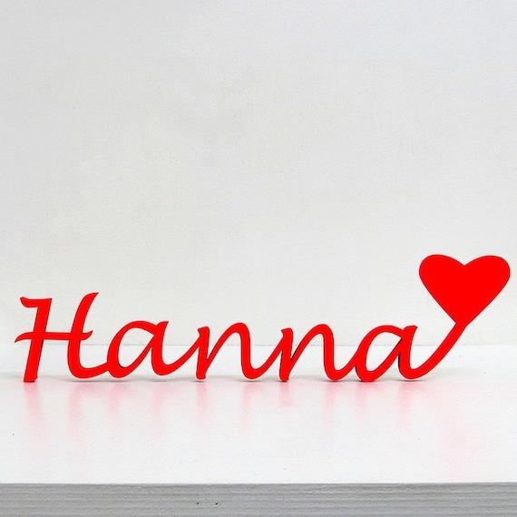 Dein Name Mit Herz 4 Bis 6 Buchstaben Schriftzug Etsy