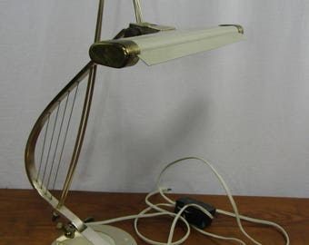 CLEARANCE Mid century Harp Piano Lamp by Cannon Products, Inc.