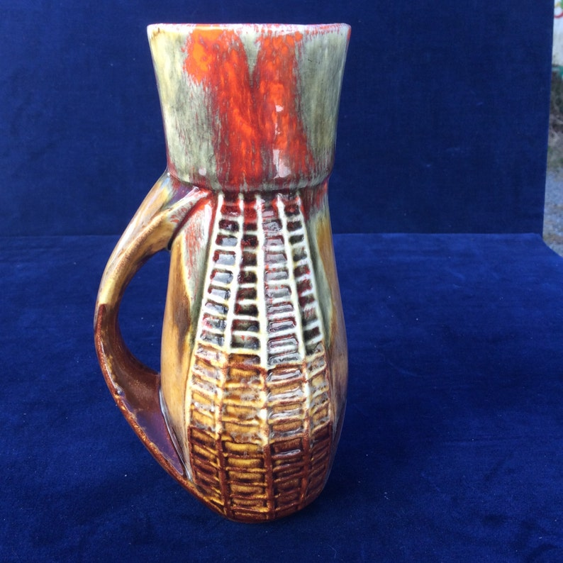 Vintage ceramic vase Marcia USA corn