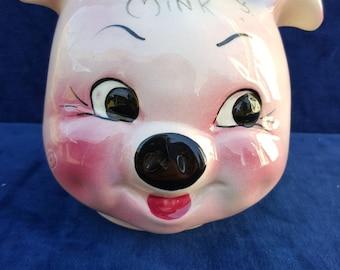 For My Mink pig head piggy bank