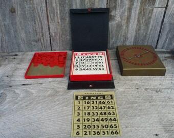 1940s Lowe's pocket sized bingo vol. 522