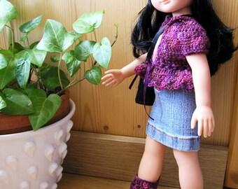 """Patron de crochet """"Chéries Boots""""  PDF pour bottes et ensemble de poupées de 32-35 cm comme les Chéries"""
