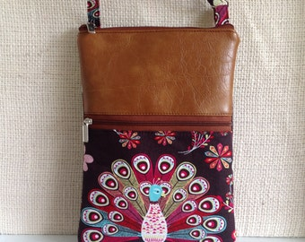 iPhone 8 plus crossbody bag, iPhone case, iPhone 7 plus small Crossbody bag, Samsung Galaxy bag , mini shoulder bag, travel purse, Handmade