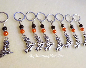 Snag Free Little Witches Stitch Markers (Set of 8) (E0116)