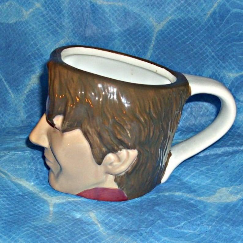 David Beckham Smugs Original Ceramic Mug Football Sport Memorabilia Manchester United 3D Effect Croco Toys English Footballer Soccer Vintage