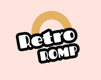 Retro Logo / Premade Logo Design / Indy Boho Logo / Hand Drawn Logo Design / Branding Kit / Premade Branding Kit / Minimal Logo