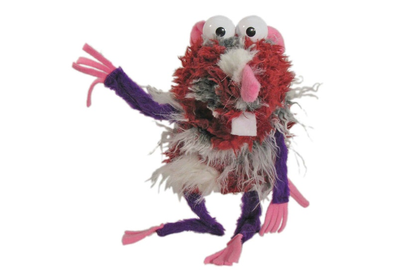 Rat Hand Puppet with squeaker