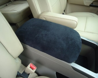 Fits Mazda CX-7 2007-2012 Fleece Center Armrest Console Lid Cover will Protect New and Restore Worn Out Consoles F4