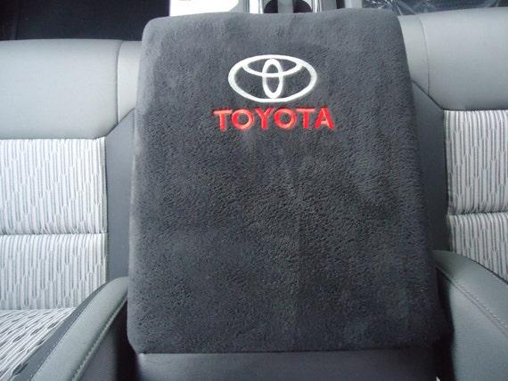 Fits Toyota Tundra 2014-2019 Neoprene Armrest Console Lid Cover T2+Foam