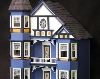 Marvelous Victorian Dollhouse Etsy Download Free Architecture Designs Scobabritishbridgeorg