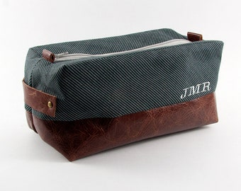e368b560115 Personalized Men s Toiletry Bag Dopp Kit Travel Bag Leather Dopp Bag Shaving  Kit Shaving Bag Mens Gift Striped Japanese Groomsmen Dad Father