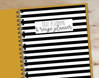 Meal Planner & Recipe Binder - Printable Planner - Instant Download