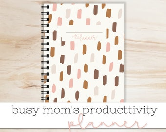 Productivity Planner - Weekly Planner - Meal Planner - To-Do List - Monthly Calendar - Cleaning Checklist -Printable PDFs