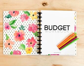 BUDGET PLANNER Set: Printable Budget & Finance Planner Forms, Instant Download!