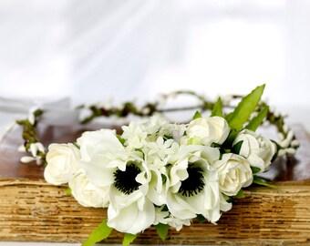 Haare Kranz Blumen Etsy