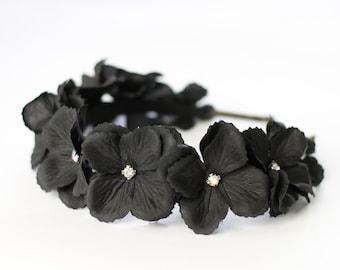 Black flower headband 44e5d814844