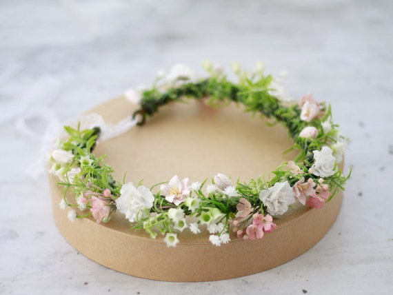 Lily of the Valley Flower Crown Wedding Floral Crown Flower  0f3b624db0e