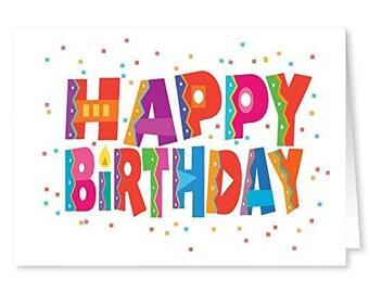 Bulk greeting cards etsy happy birthday cards 18 cards and 19 envelopes bulk birthday cards 11185 m4hsunfo