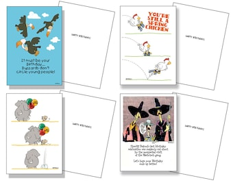 Happy Birthday Cards 18 Cards And 19 Envelopes Bulk