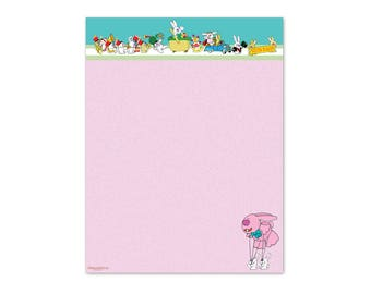 picture regarding Easter Bunny Letterhead named Solutions identical toward Printable Easter Paper - Letter towards Easter