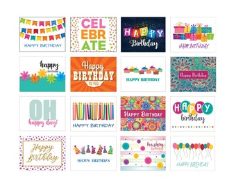 Boxed Set Birthday Cards