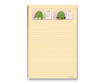 """50 sheets Magnetic Custom Notepads /""""Sea Turtle/"""""""