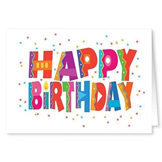 Happy Birthday Cards 18 And 19 Envelopes Bulk