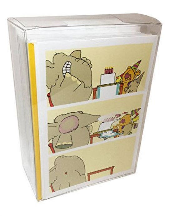 Birthday Card Box Set Of 48 Envelopes Different