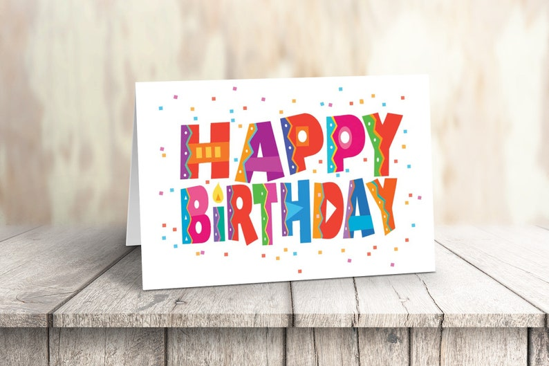 Happy Birthday Cards 18 And 19 Envelopes Bulk