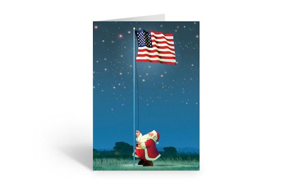 Sailboat Happy Holidays Christmas Card 18 Cards /& Envelopes 60023