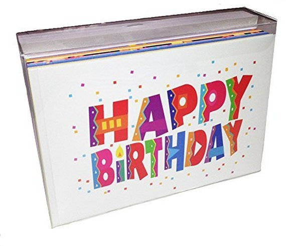 36 Bulk Value Pack Birthday Card Assorted Set Of