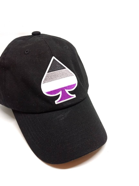 Dad Hat Ace Pride Symbol Asexual Pride Iron On Patch Lgbtqa Etsy