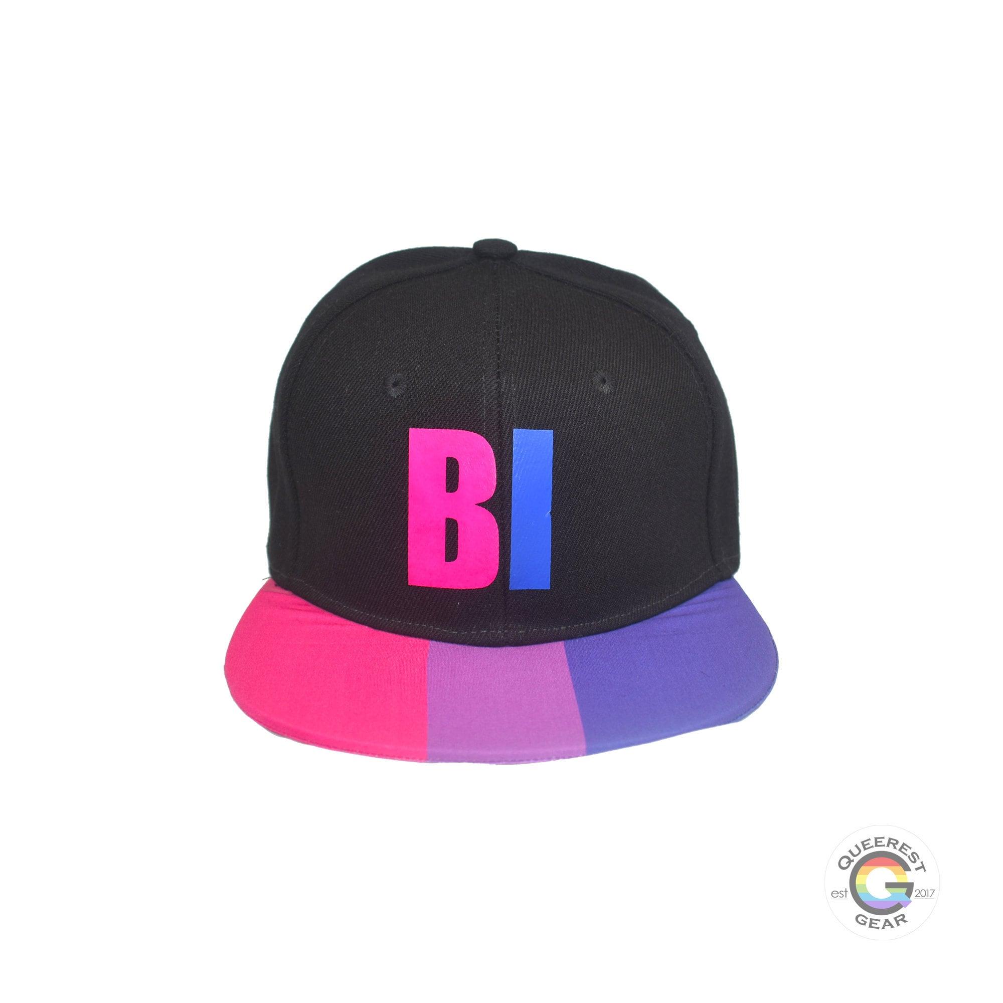 Bi Flag Queer Eye Embroidered Dad Hat Bisexual Flag Bisexual Gay Pride LGBTQ Bisexual Pride Bi Pride LGBT Flag LGBT Baseball Hat