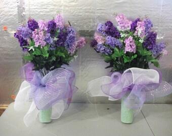 Cemetary Vase