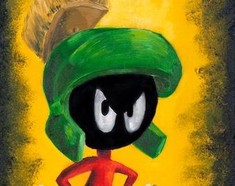 Marvin the Martian (ART PRINT)