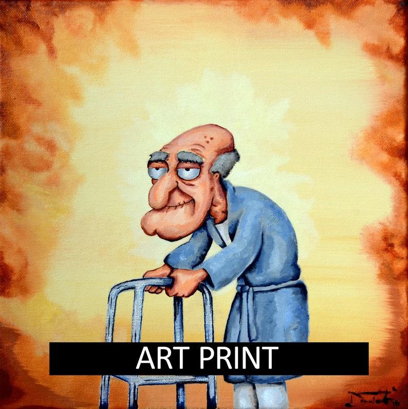 Herbert The Pervert Art Print Etsy